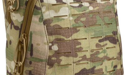 Molle System on back of Camelbak MULE Backpack