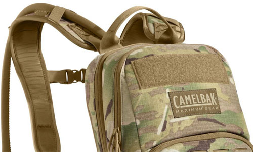 Camelback Quality Features on Military-Style Hydration Backpack