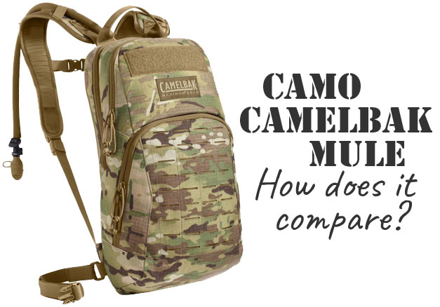 Camo Camelbak MULE Military Style Hydration Backpack