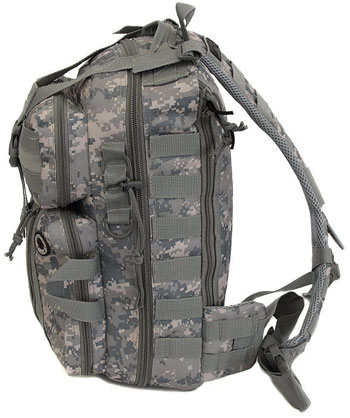 Tactical Sling Backpack in Camo