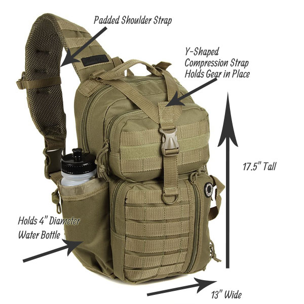 Tactical Sling Backpack - How Does it Compare to Other Packs  027d127fdac99